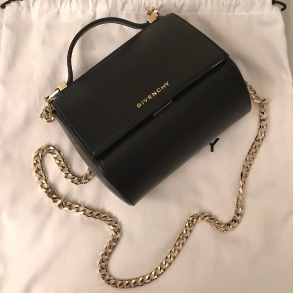 95a4065c83 Givenchy Handbags - Givenchy Pandora Box Mini Leather Chain bag